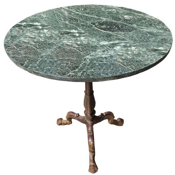 # 4328 Early Round Iron Table