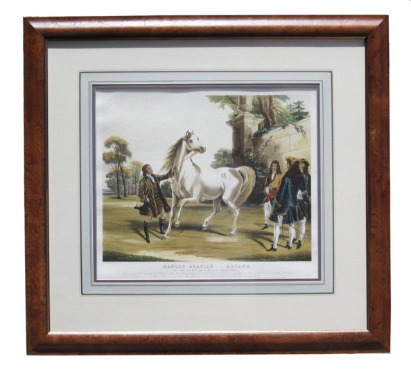 # 4283 Pair of Horse Prints