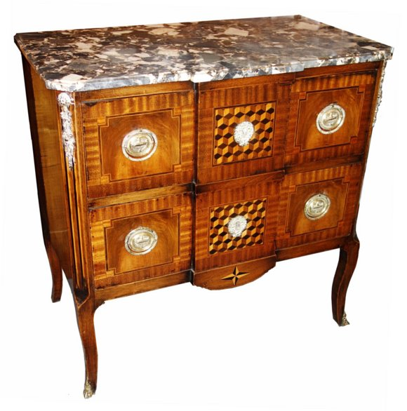 # 1291 Louis XV Commode