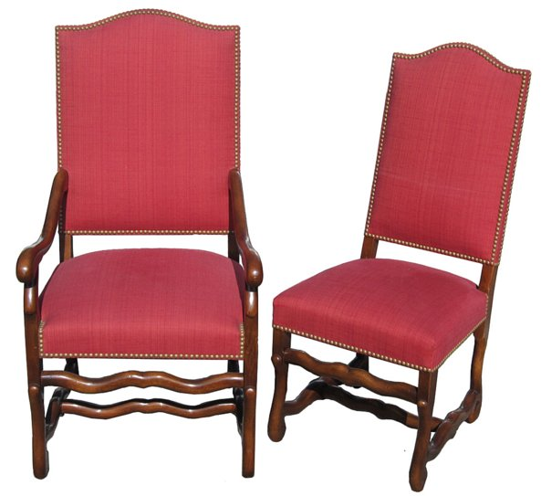 # 3900 Set of Eight Louis XVI Style Chairs