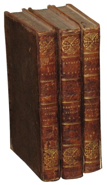 # 2038 Set of 3 the Works by John Dryden Books