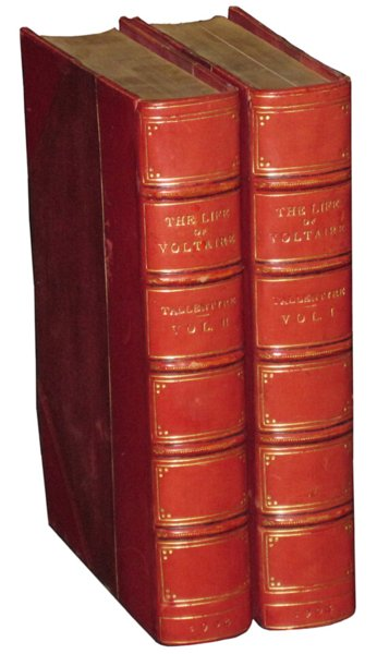 # 4594 Set of 2 Life of Voltaire Books