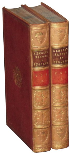 # 4593 Set of 2 Kembles Saxons of England Books