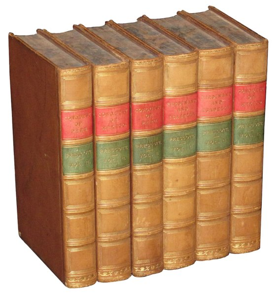 # 4582 Set of 6 Prescott Books