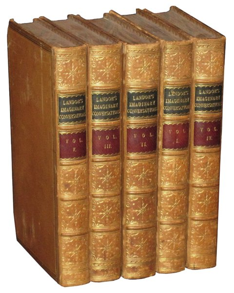 # 4581 Set of 5 Landor's Books