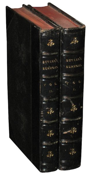 # 4614 Set of 2 Butler's Sermons Books