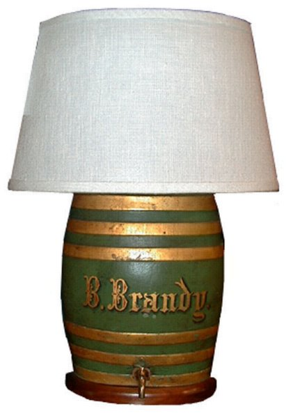 # 1513 Brandy Barrel Lamp