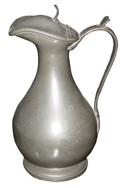 # 4846 Pewter Pitcher with Lid