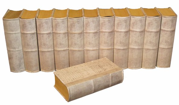 # 4906 Large Vellum Book (7 available)