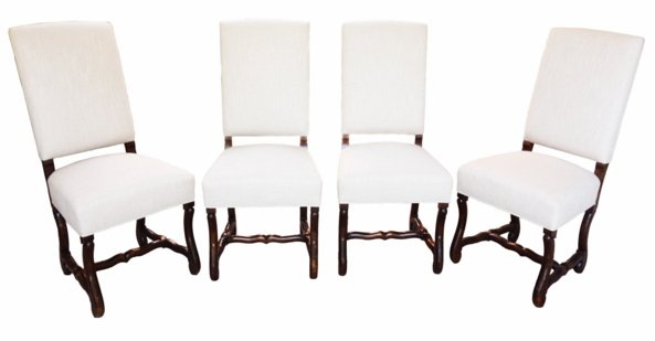 # 4928 Set of Eight Louis XVI Style Chairs