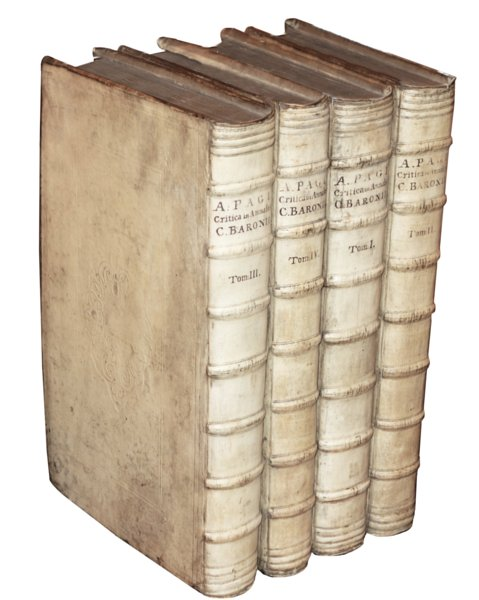 # 5009 Set of Four Vellum Books