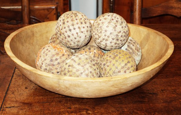# 5094 Rustic Wood Bowl