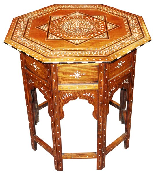 # 5125 Moorish Table
