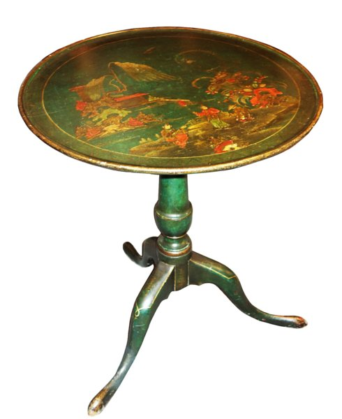 # 5262 Chinoiserie Tile Top Table