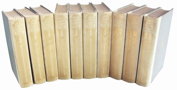 # 5284 The Complete Works of Edgar Allan Poe Vellum Book (10 vols)