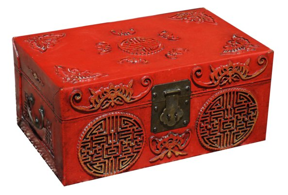 # 5301 Red Happiness Box