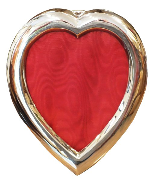 # 5305 Vintage Sterling Silver Heart Shaped Frame
