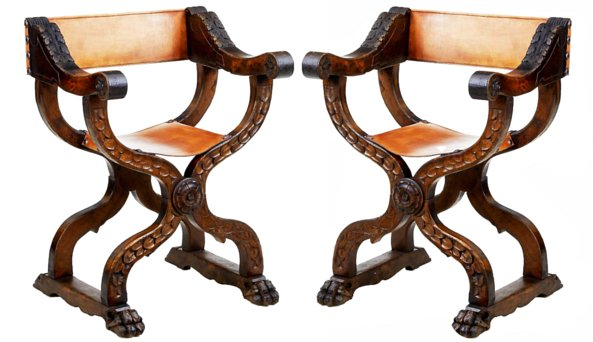 # 5318 Pair of Savanalora Armchairs