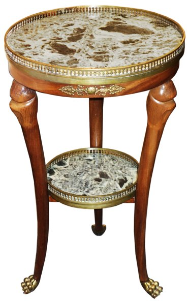 # 5367 Louis Philippe Round Side Table