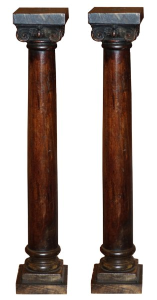 # 5365 Pair of Decorative Columns