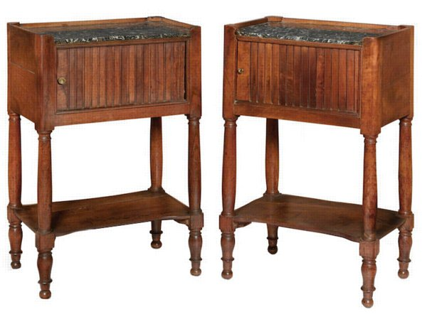 # 5417 Pair of Louis XVI Side Tables