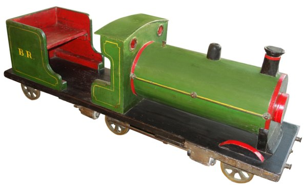 # 5454 Large Wooden Train