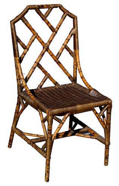# 3763 Bamboo Sidechair (4 available)