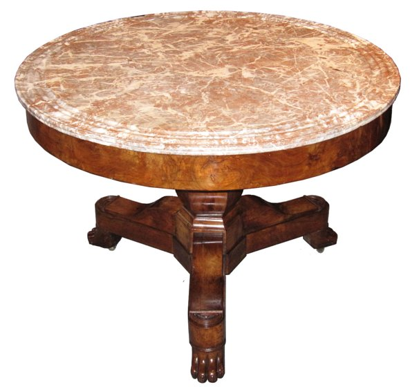# 4363 Gueridon Table